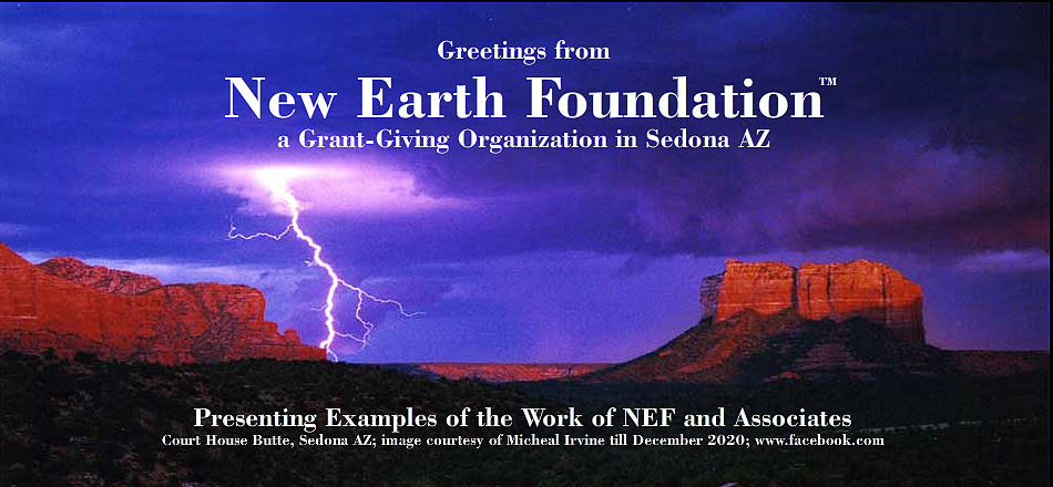 Welcome to New Earth Foundation